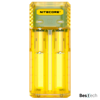 Зарядное устройство Nitecore Q2 Yellow, 2 канала, Li-Ion/IMR 2A max, 12V, LED, Blister